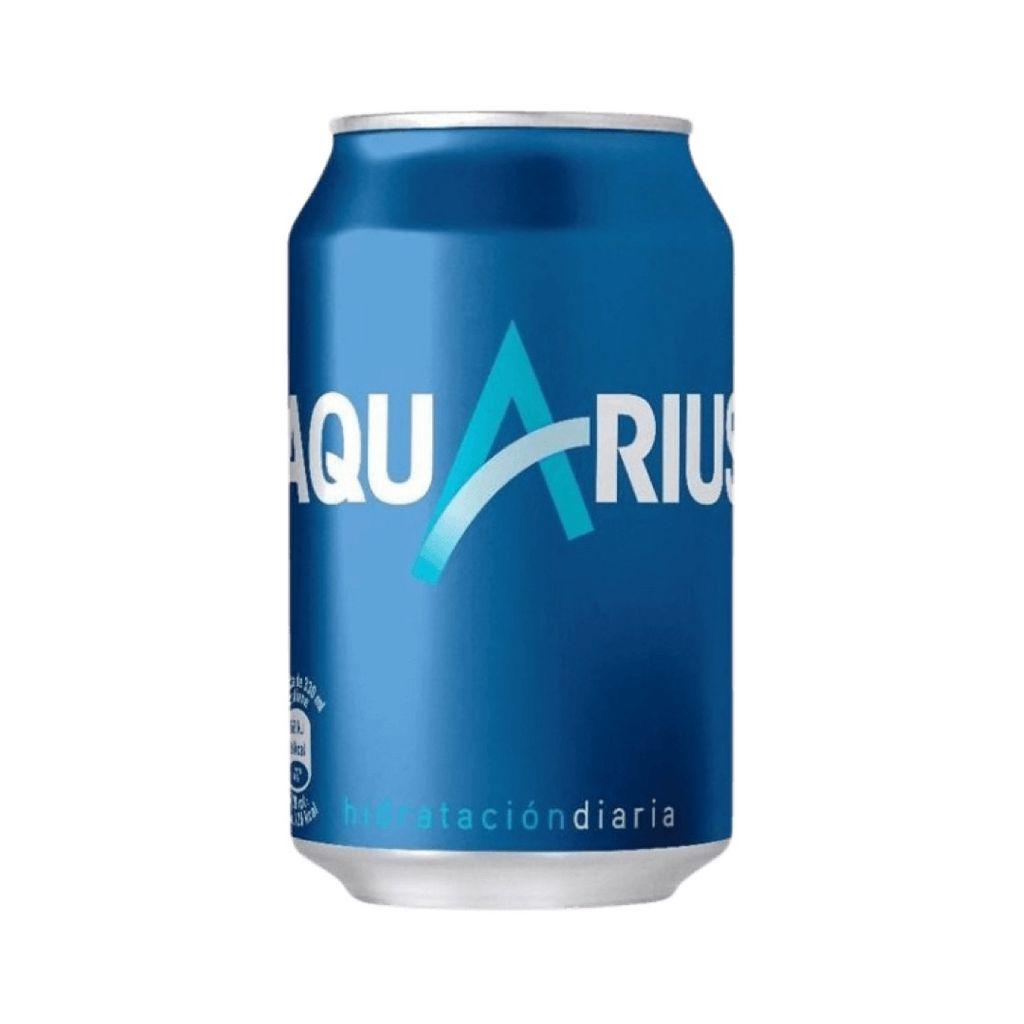 Lata Aquarius Limón 33 cl