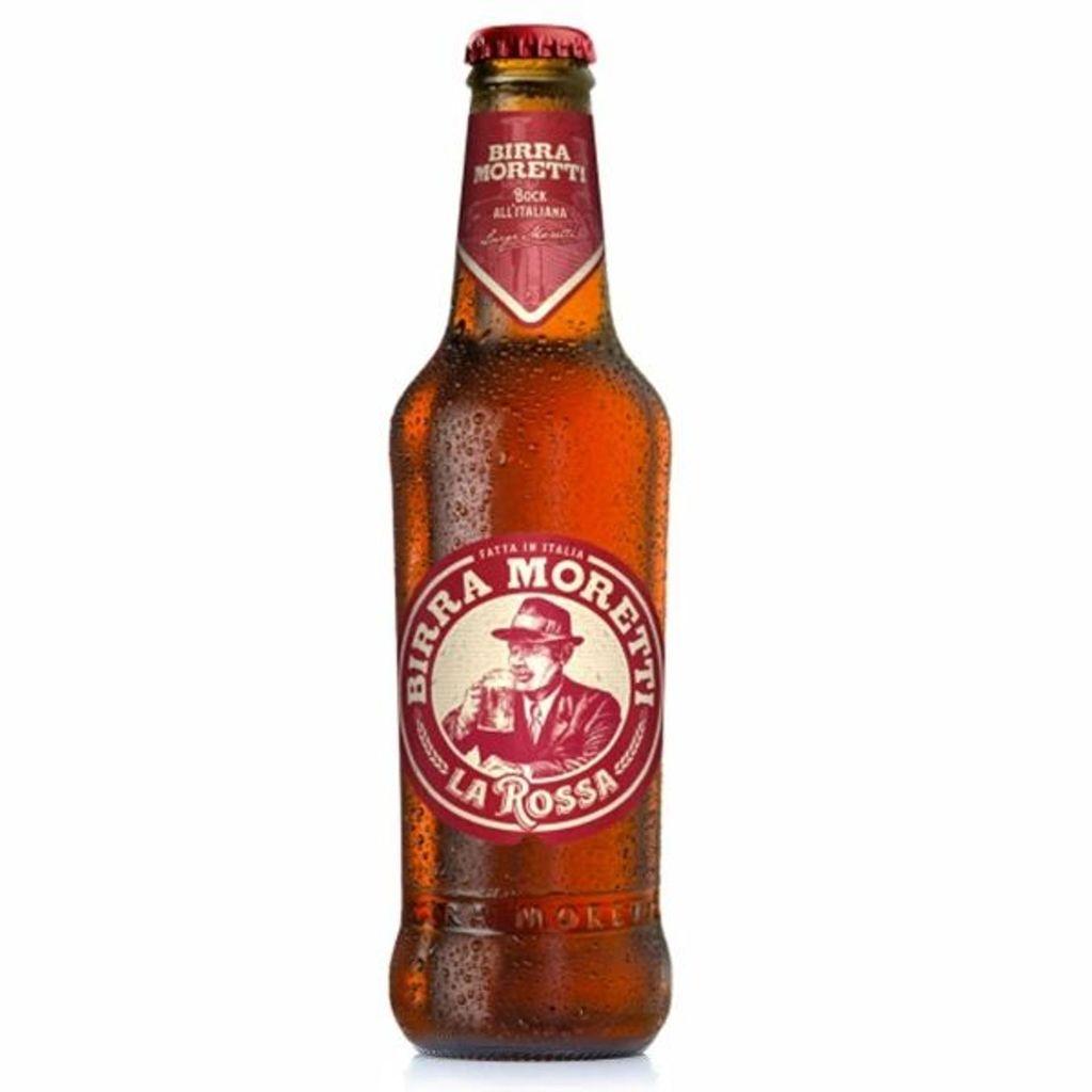 Birra Moretti Rossa