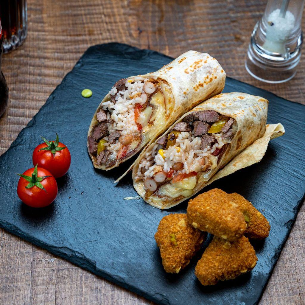 Cangaroo burrito menu