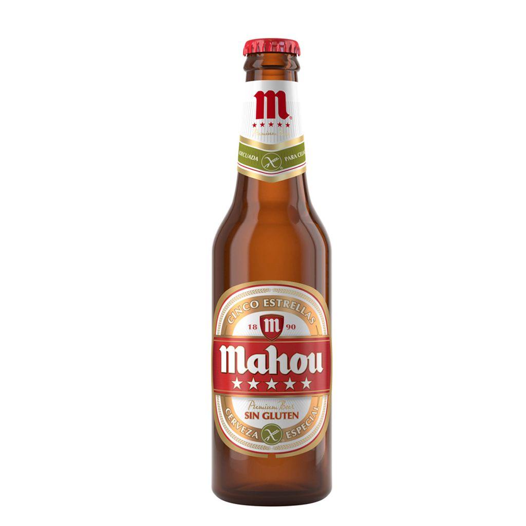 Cerveza Mahou sin Gluten