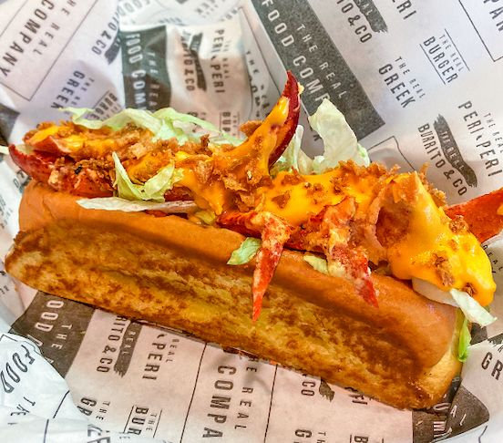The Cheese Lobster Roll