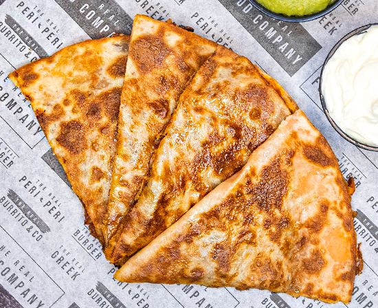 Chili Cheese Quesadilla