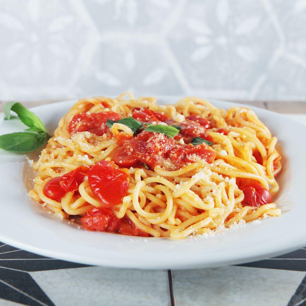 """Spaghetti """"mamma mia"""" VEGANO"""
