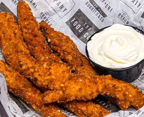 Real Chicken Fingers
