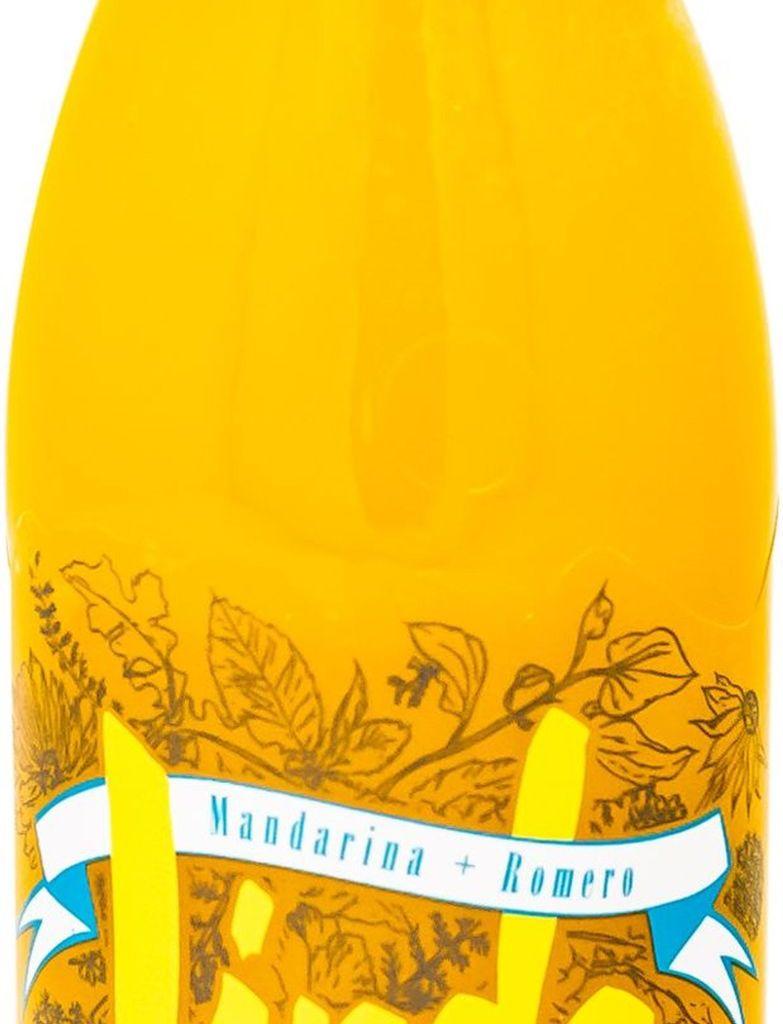 Linda mandarina y romero