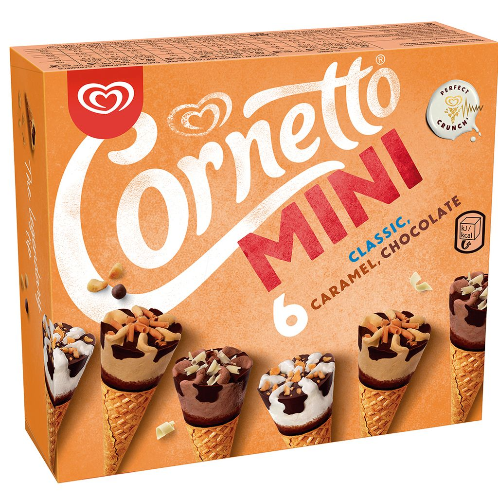 Cornetto Mini Mix X6 60ml