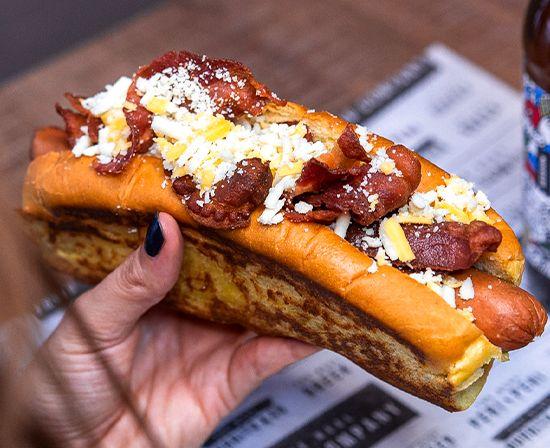 The Bacon Cheese Dog