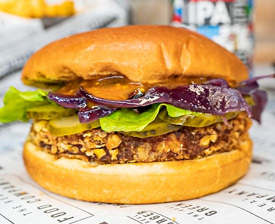 The Chick Asian Burger