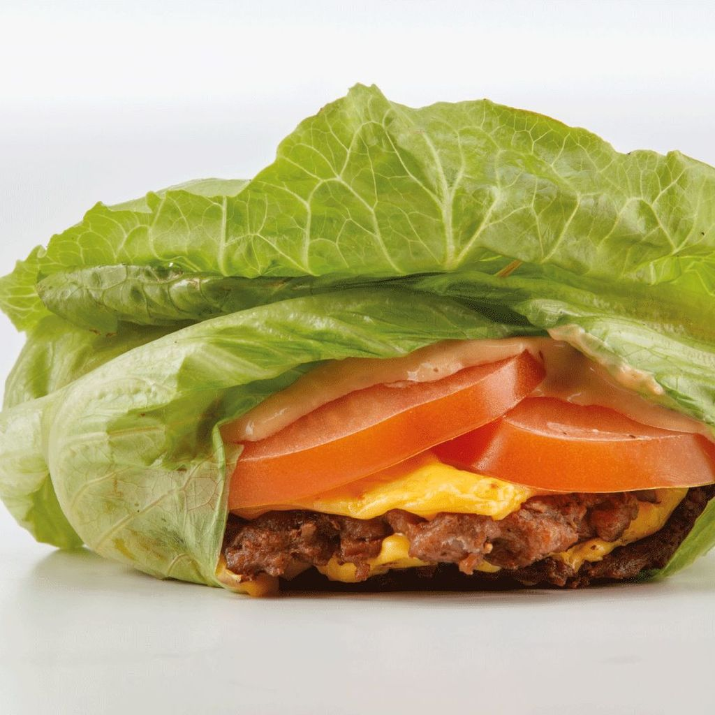 Menu Beyond Protein burger
