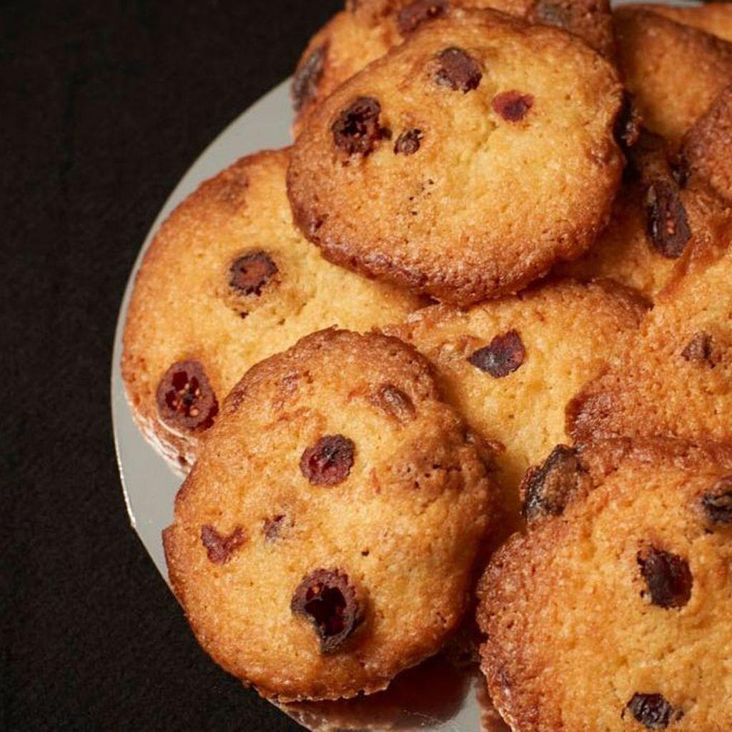 Cookies de chocolate negro con pepitas de chocolate negro ( 12 cookies, 200 gr)