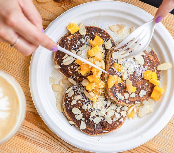 Pancakes Avena y Canela