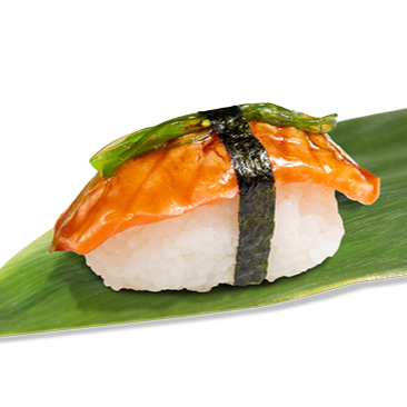 Salmon kimchee nigiri (1ud)