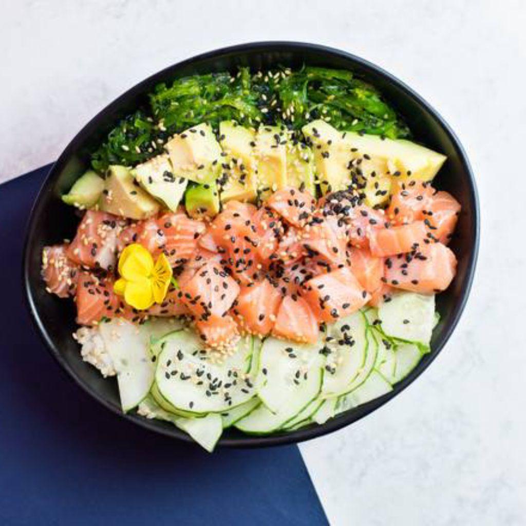 Salmon Wasabi SML