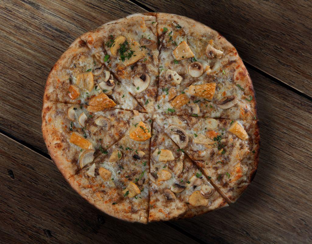 Pizza Trufa y Boletus