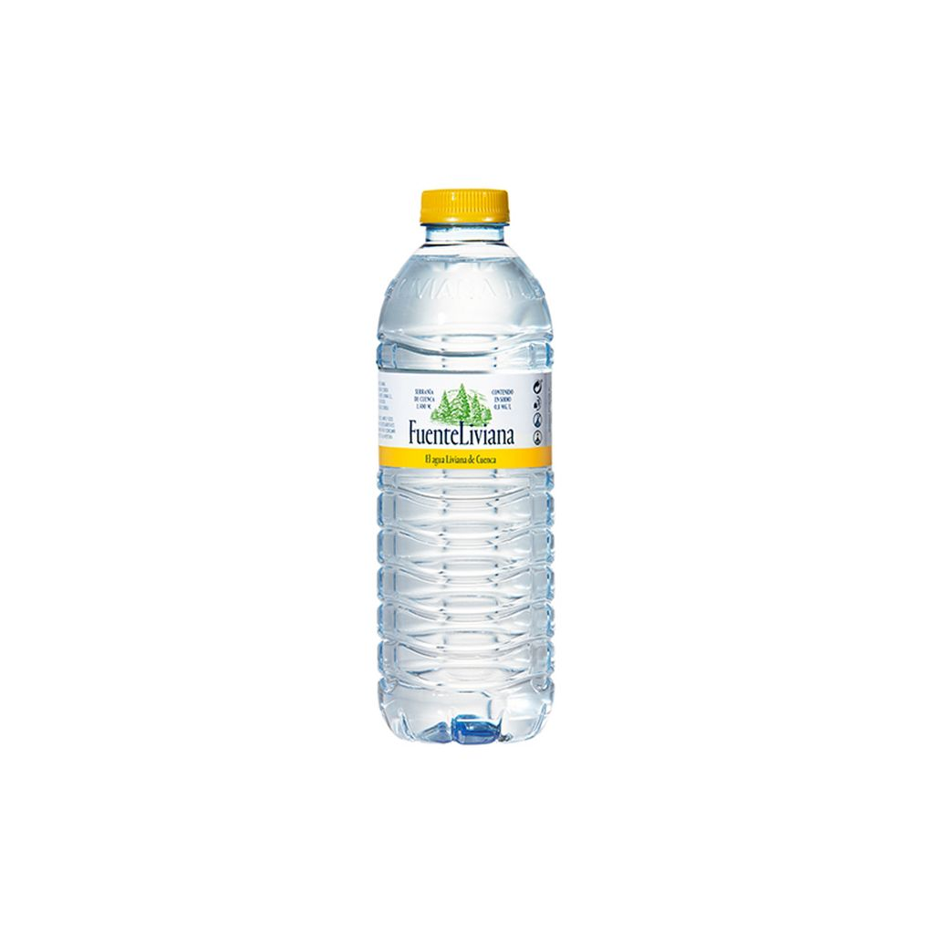 Agua de 50 centilitros