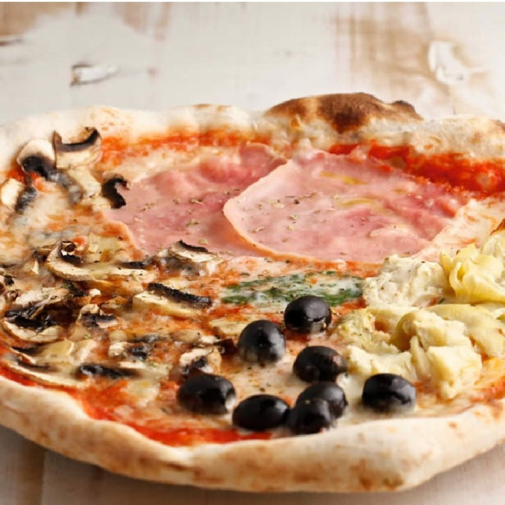 Pizza Infantil Quattro Stagioni