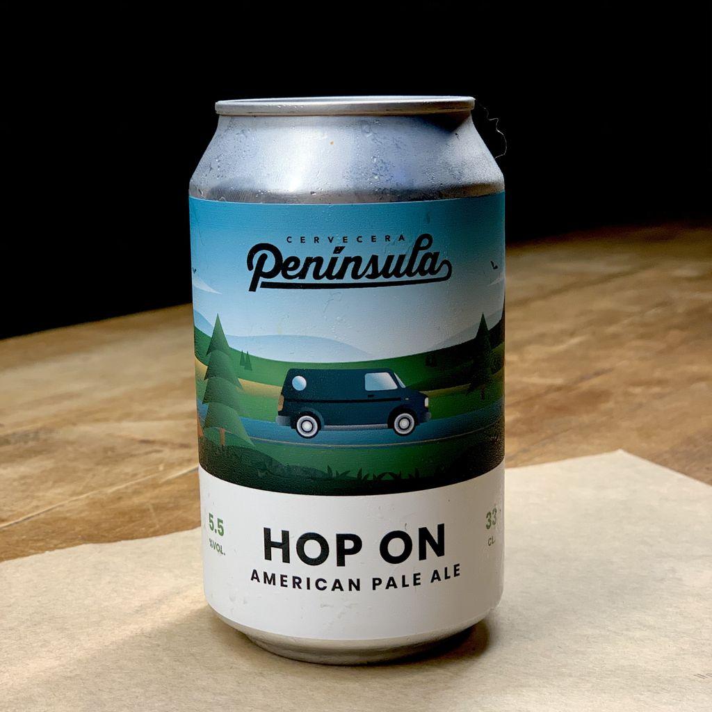 Cerveza Peninsula Hop On