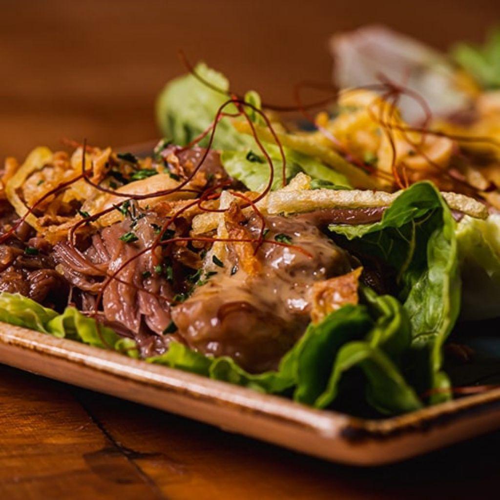Tacos con Sabor a Vietnam