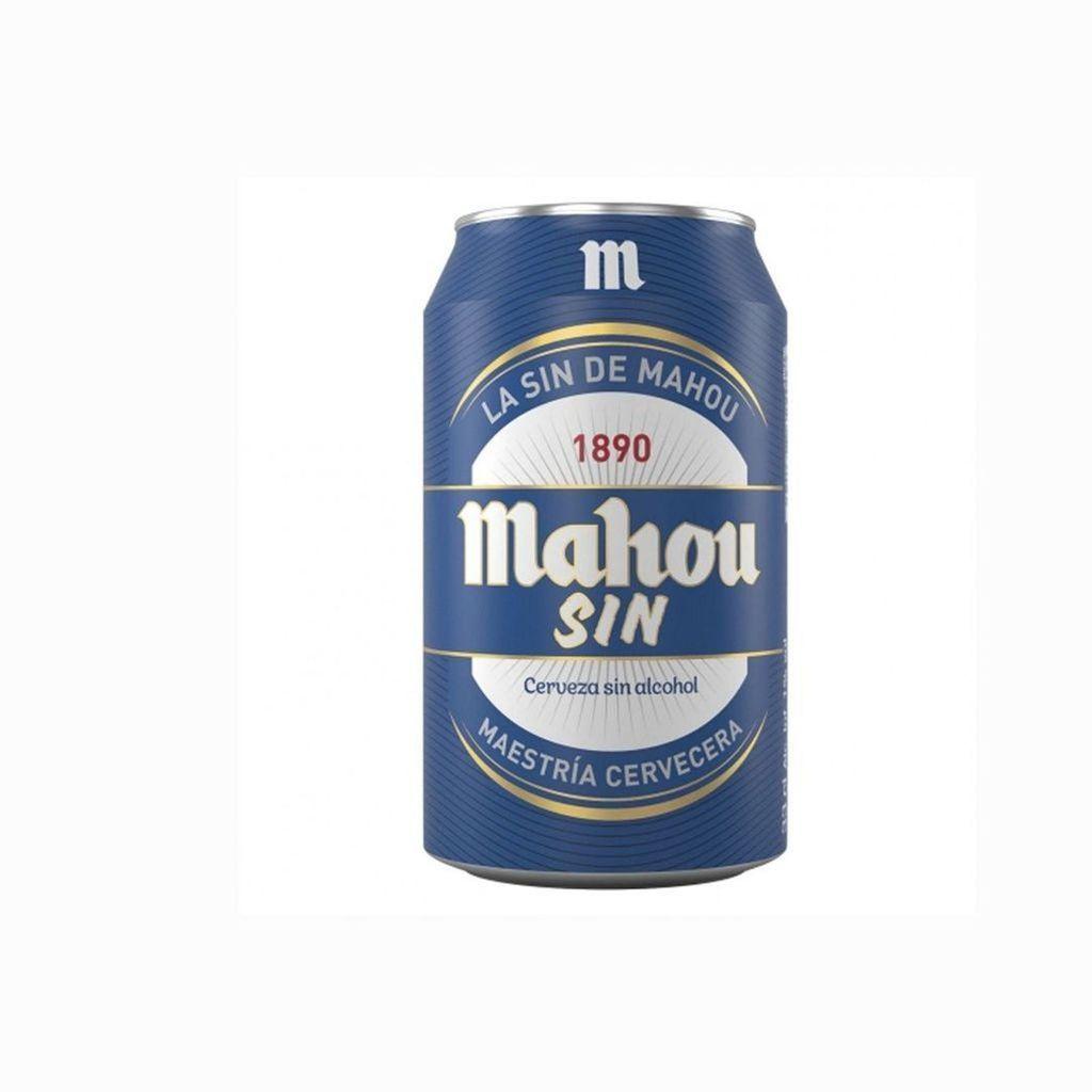 Cerveza Mahou sin Alcohol de 33 Centilitros