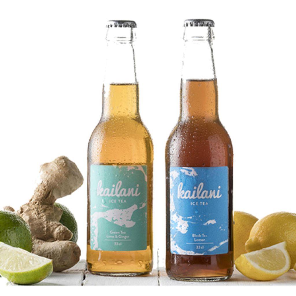 Kailani Ice Tea Verde con Jengibre y Lima