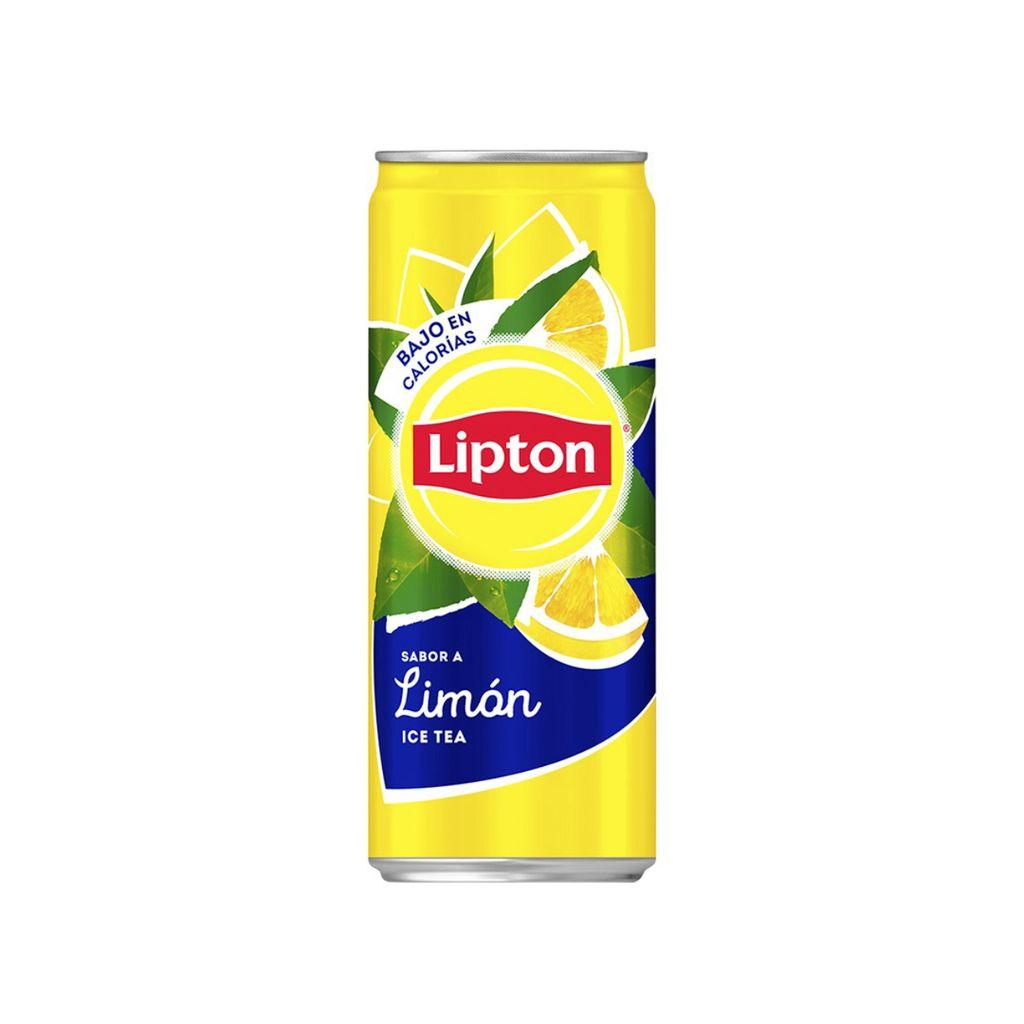 Lata Lipton Limón