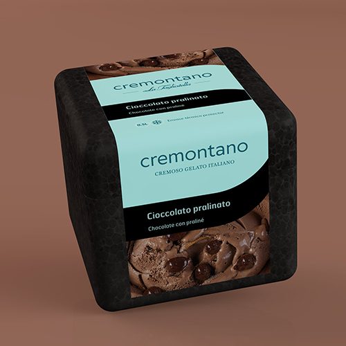 Helado Cioccolato Pralinato