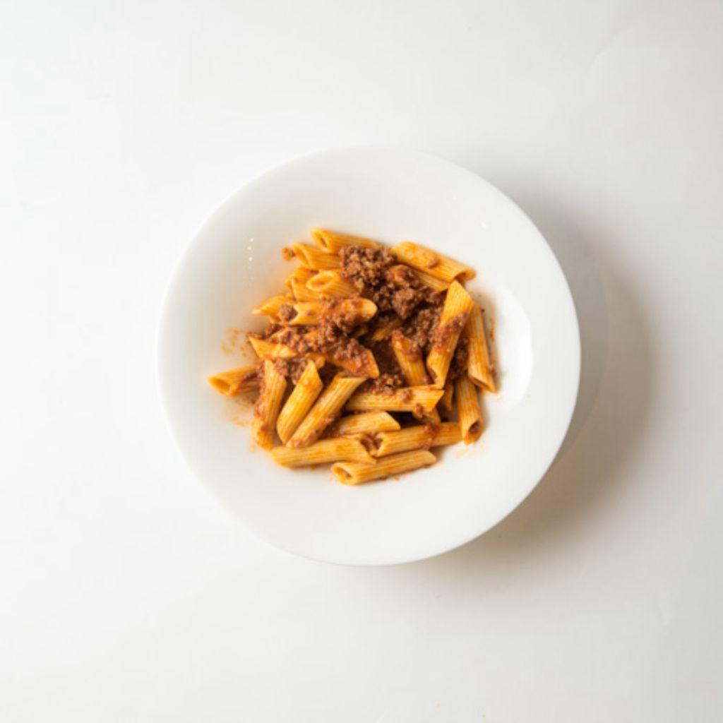 NEW - Pasta Rummo con salsa Boloñesa casera
