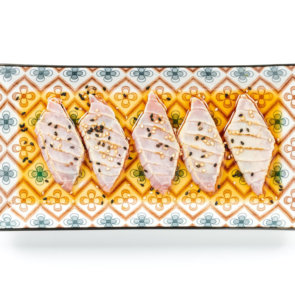 Carpaccio tuna Flambè