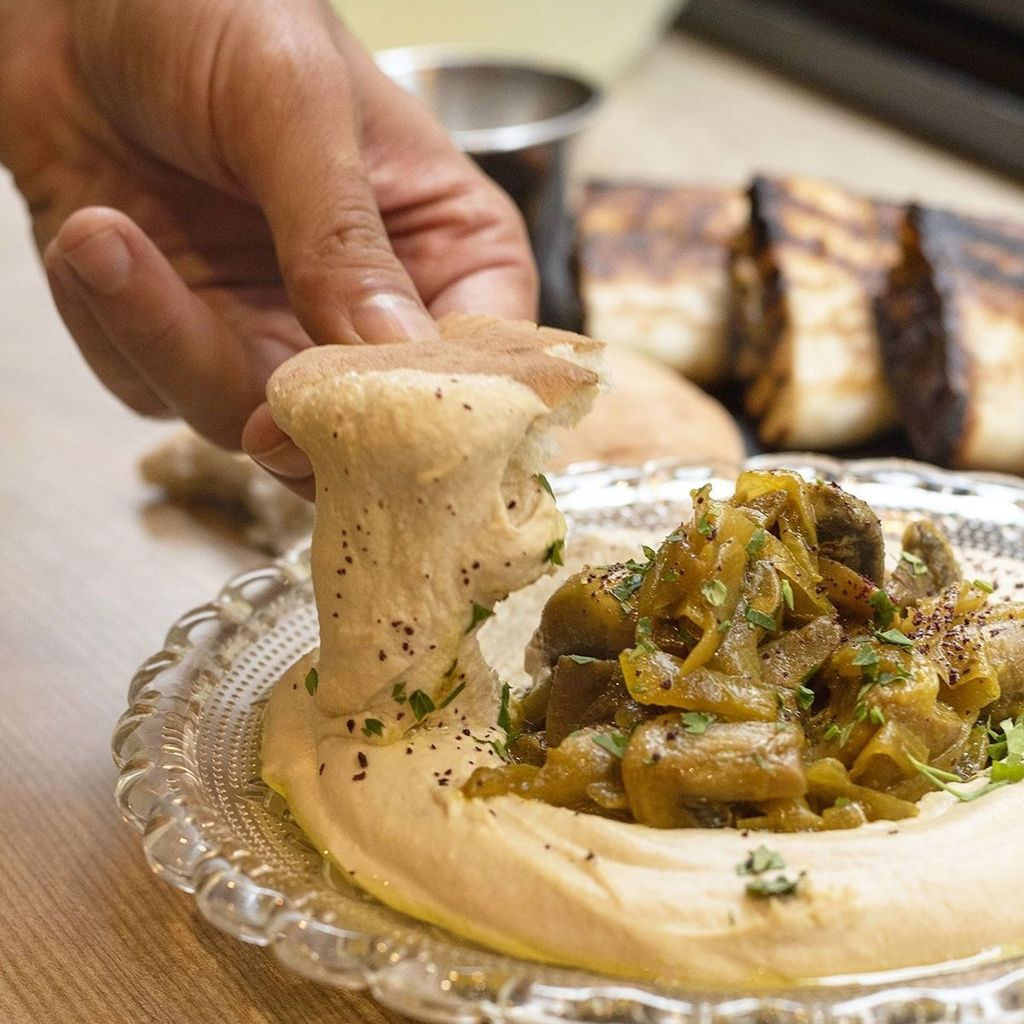 Hummus de Champiñón