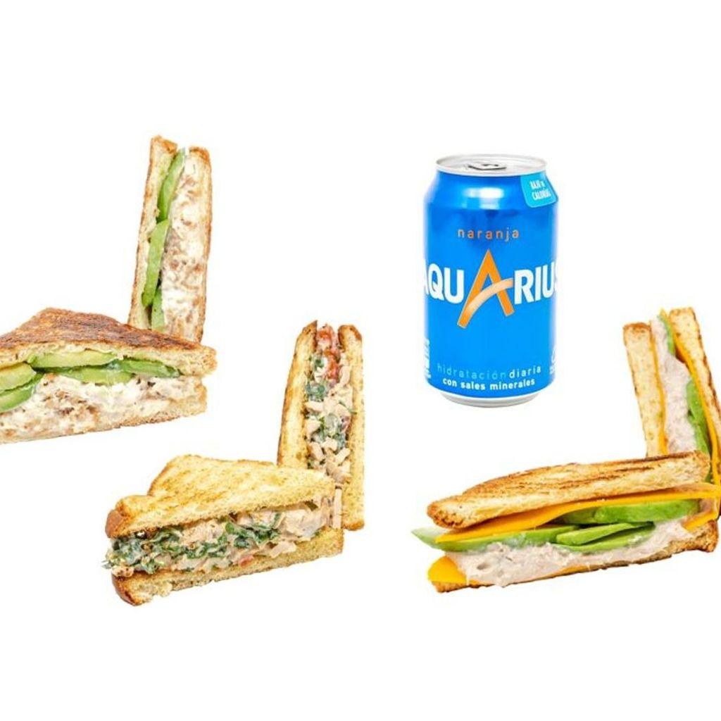 Pack 3 Sandwiches+bebida