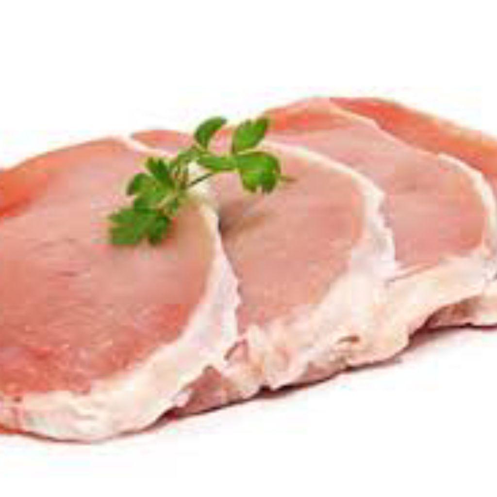 Filete Cerdo Al Ajillo Plancha