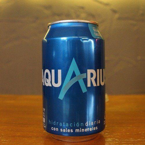 Aquarius Limón Lata