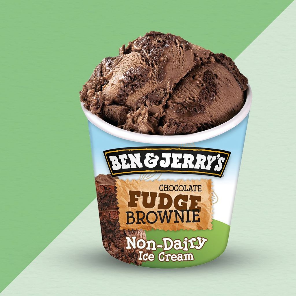 Ben & Jerry's Vegan Chocolate Fudge Brownie (465ml)