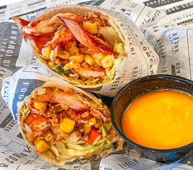 The Chili Lobster Wrap
