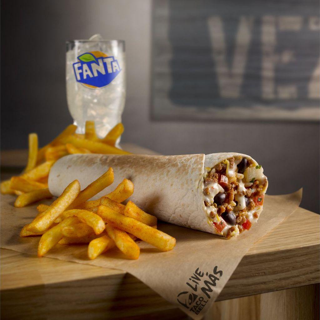 Menú Gran Burrito