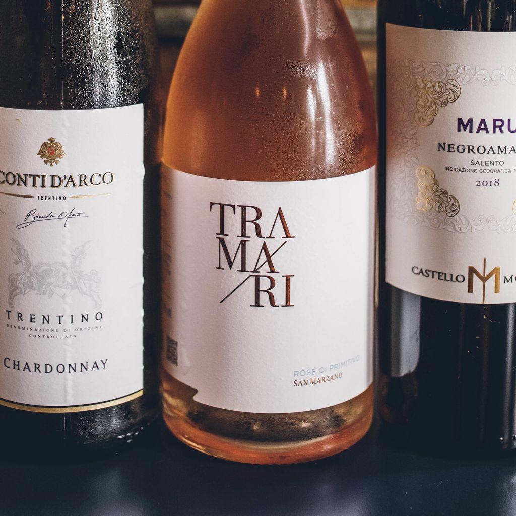 Botella Vino Blanco Conti D'Arco Chardonnay