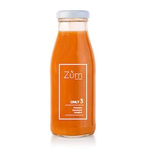 Züm Only 3 Manzana, zanahoria y jengibre