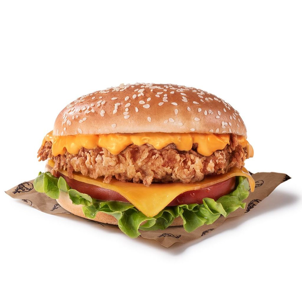 Original Doble Cheddar Burger