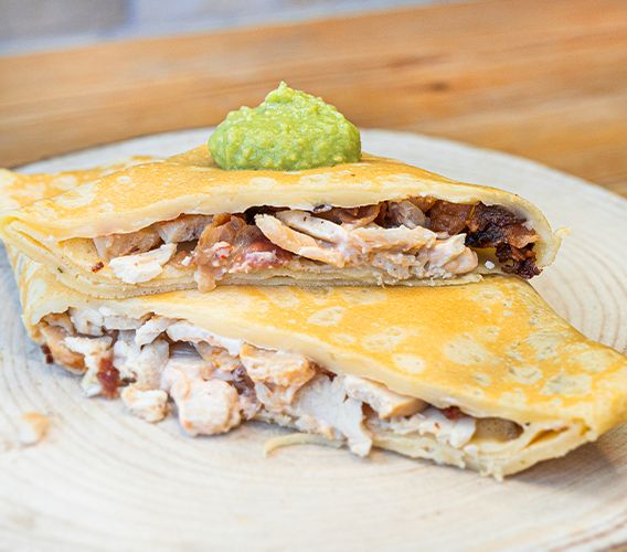 Crepe Chicken & Chipotle