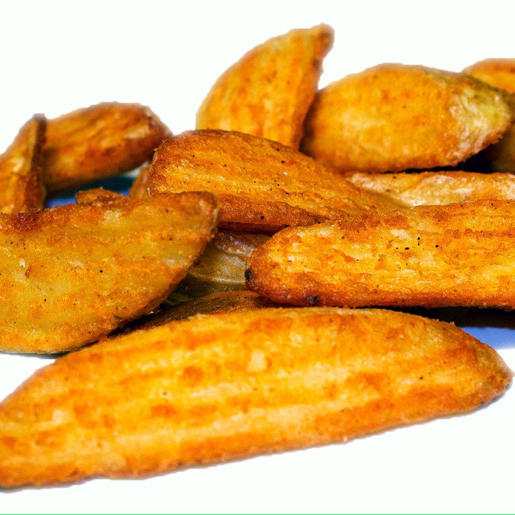Patata Crinkle Crujiente   Crunchy fries