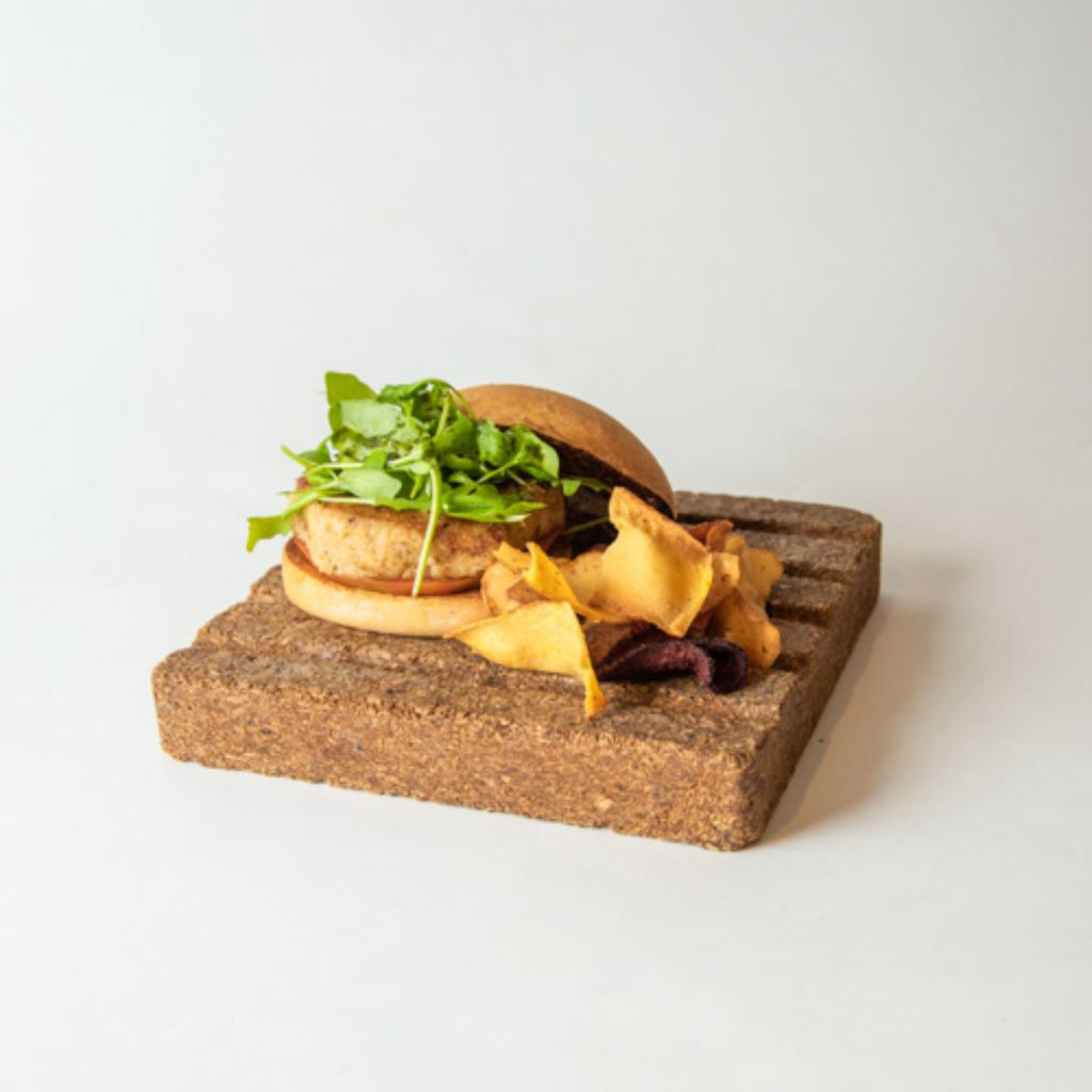 Hamburguesa Vegana de Coliflor y Quinoa sin Gluten