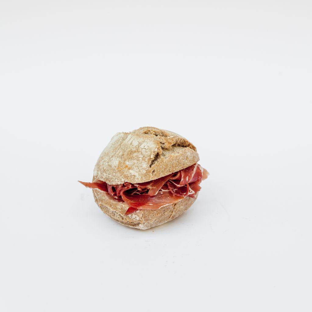 Mini bocadillo jamón ibérico