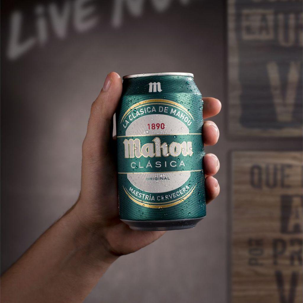 Lata cerveza Classic