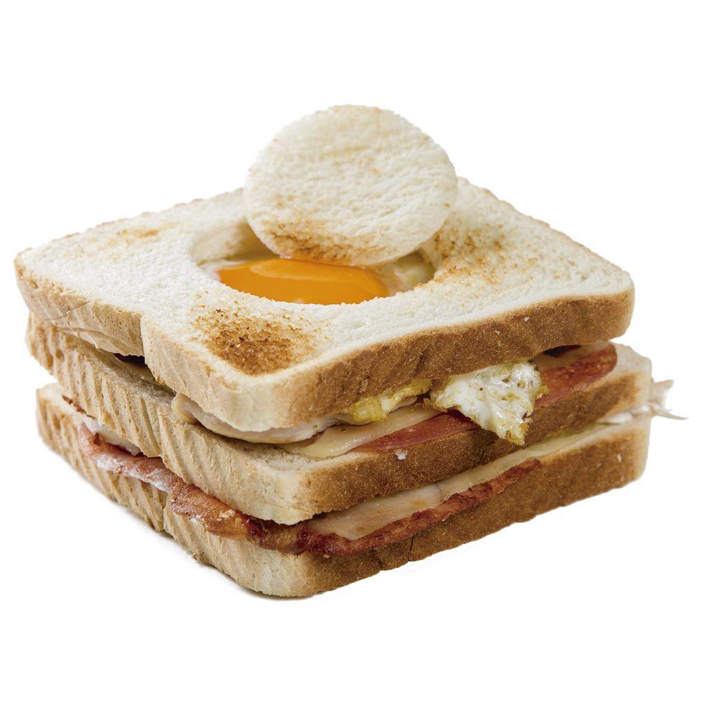 Sándwiche Triple Salvaje