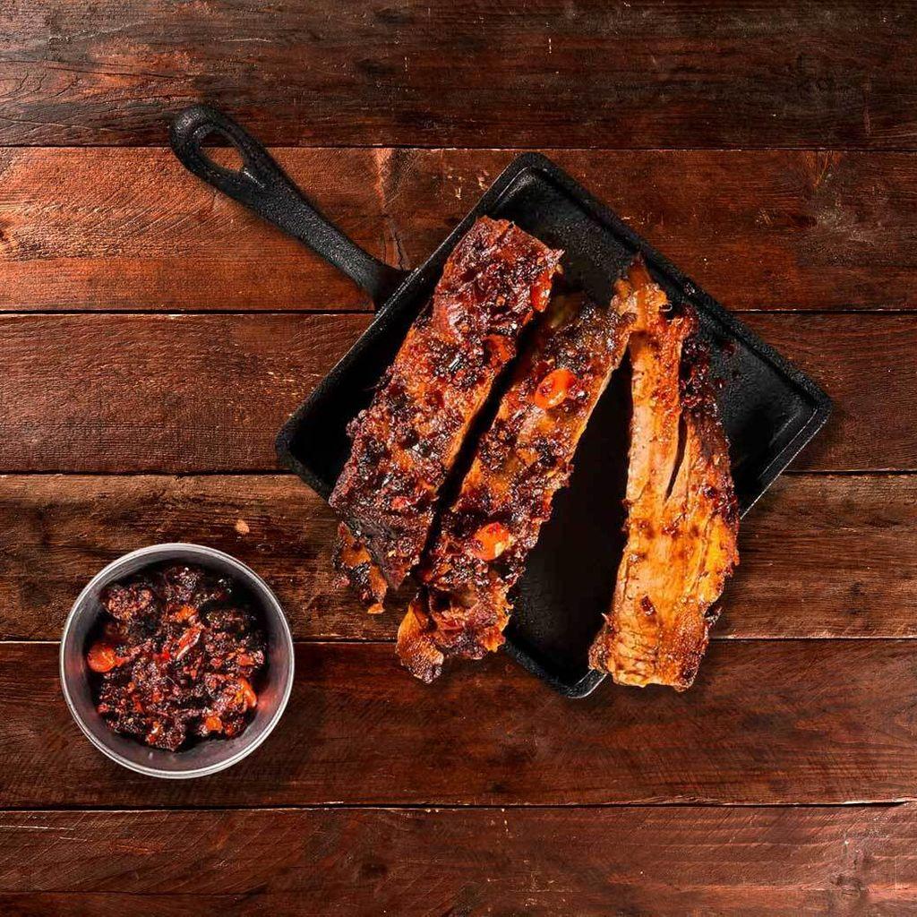 Ribs glaseadas con salsa Sichuan ️️