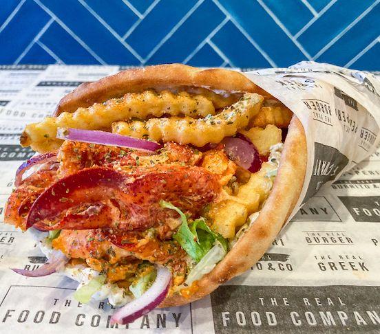 The Lobster Pita