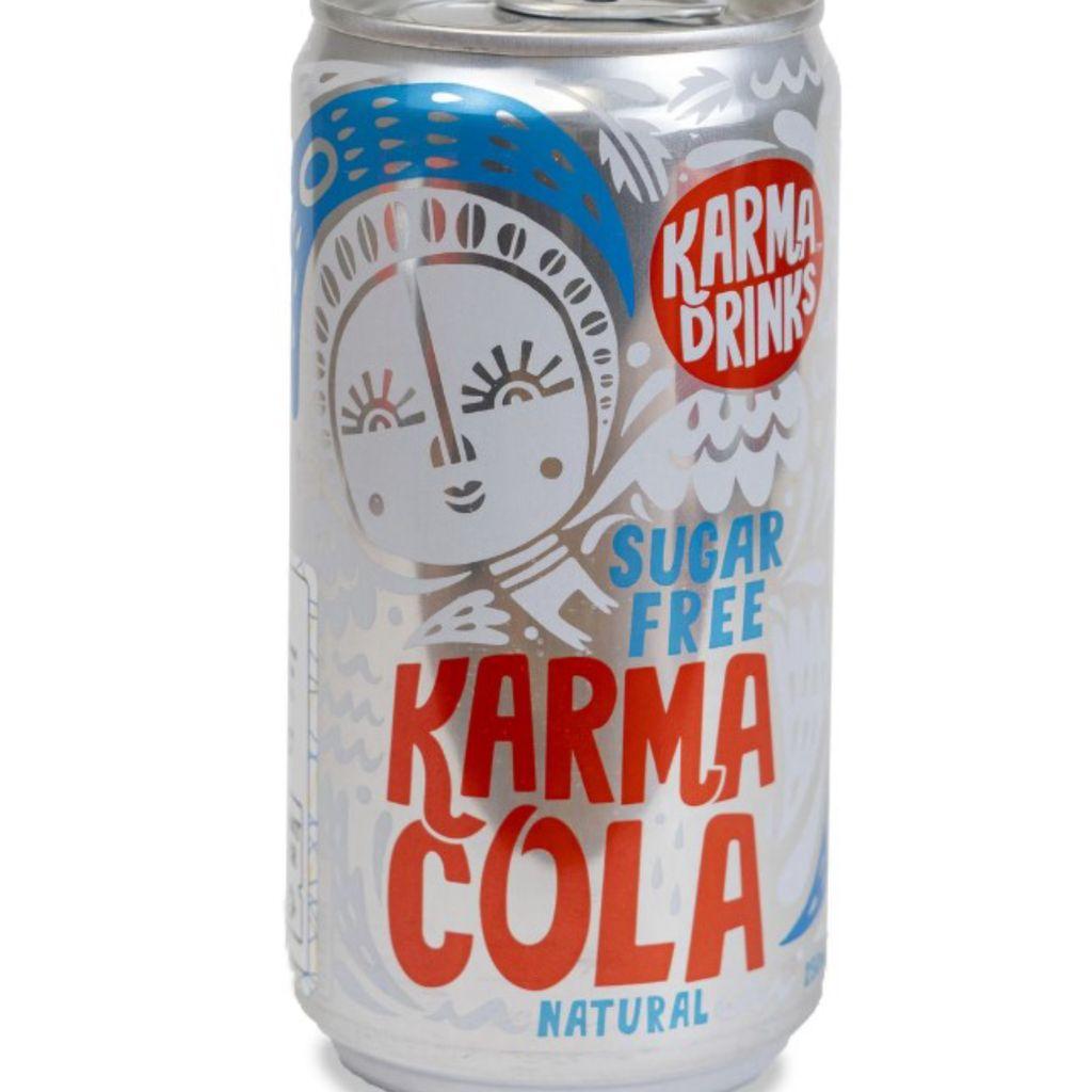 KARMA COLA SUGAR FREE ASPORTO