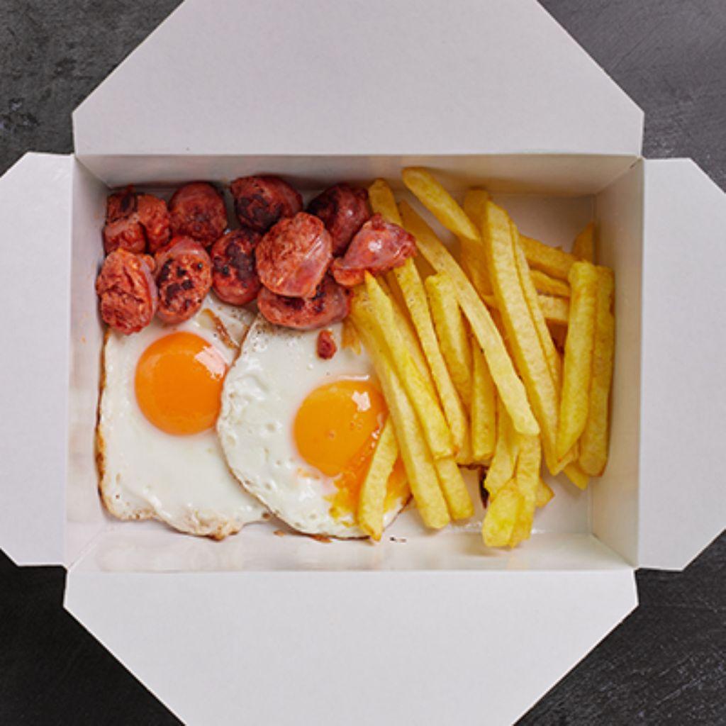 2 huevos fritos de la abuela