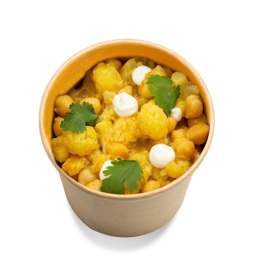 Guiso de coliflor al curry