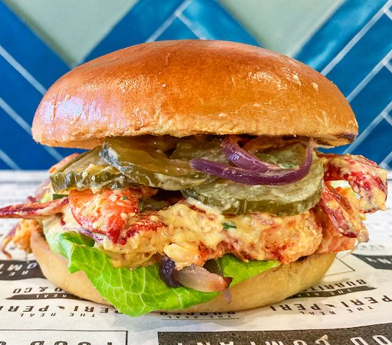 The Real Lobster Burger